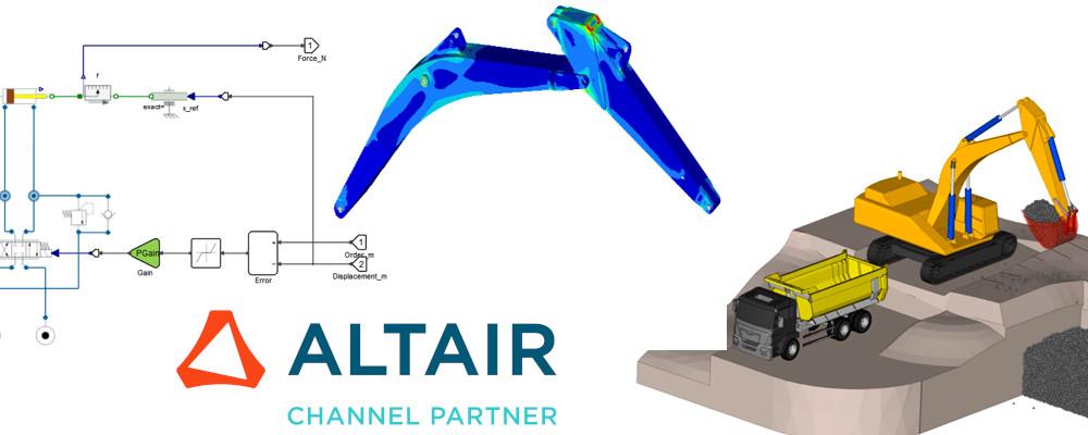 Altair Activate, MotionSolve hidrolik sistem simülasyonu