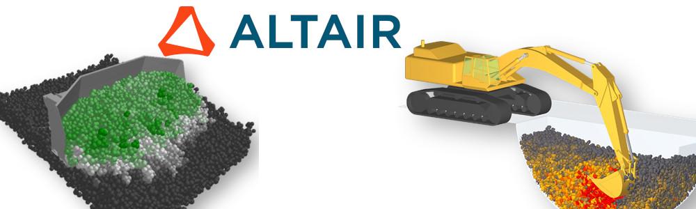 Altair EDEM ile ağır ekipman tasarım simülasyonları