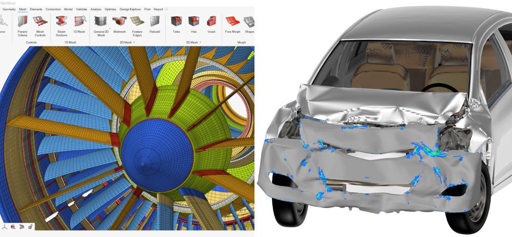 Altair HyperMesh & HyperView 2020 Yeni Özellikler