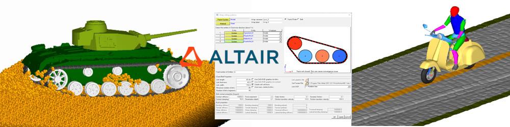 Altair MotionSolve 2021 Yeni Özellikler